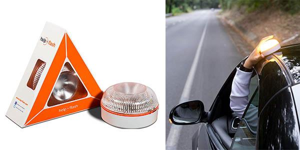 Help Flash luz de emergencia para el coche homologada por la DGT barata