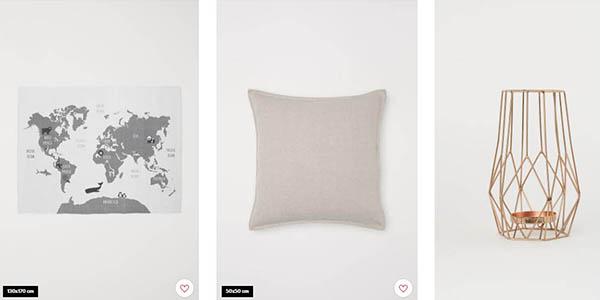 H&M Home descuentos en productos del hogar mayo 2019