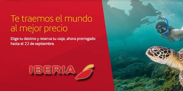 Iberia vuelos baratos septiembre 2019
