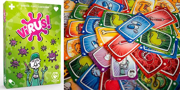 Juego de cartas Virus! barato