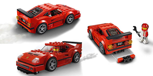 juego de construcción LEGO para carreras coche Ferrari Speed Zone chollo