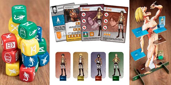 Juego de mesa Attack on Titan: La última Batalla barato