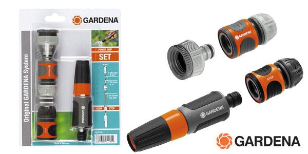 Kit básico de riego Gardena 18291-20 chollo en Amazon