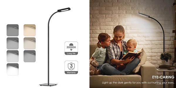 lámpara de suelo regulable en intensidad Moderno oferta
