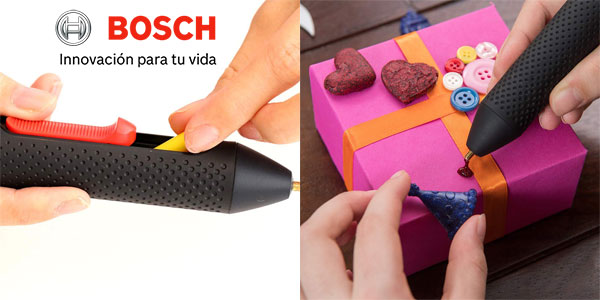 Lápiz de pegado Bosch Gluey Smoky grey chollo en Amazon