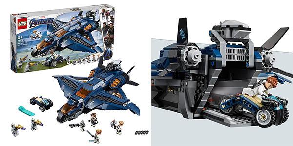 LEGO Superhéroes Quinjet definitivo Vengadores barato