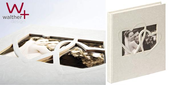 Libro de Visitas Walther Sweet Heart para bodas barato en Amazon