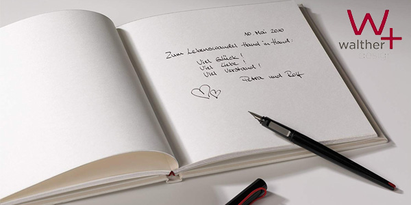 Libro de Visitas Walther Sweet Heart para bodas chollo en Amazon