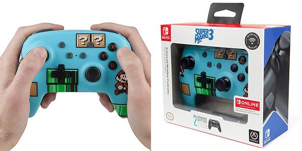Mando Inalámbrico Super Mario Bros 3 para Nintendo Switch en Amazon