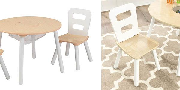 mesa y sillas infantiles juego Kidkraft chollo