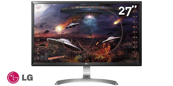 "Monitor LG 27UD59 Ultra HD 4K de 27"""