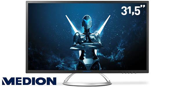 """Monitor LED Medion Akoya X58222 de 31,5"""" QHD"""