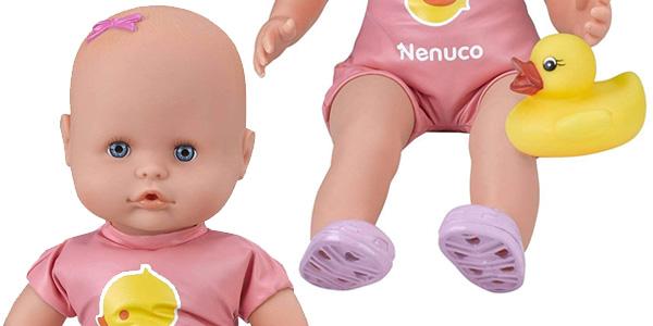 Muñeco Nenuco Mi primer baño (Famosa 700014020) chollo en Amazon