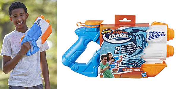 Nerf Supersoaker Twin Tide chollo