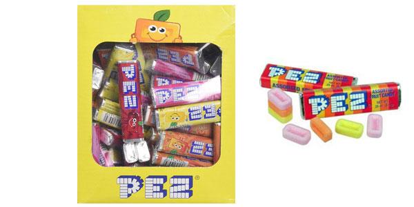 Pack de 100 recargas de caramelos PEZ sabor fruta de 850 gramos barato en Amazon