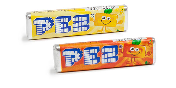 Pack de 100 recargas de caramelos PEZ sabor fruta de 850 gramos chollo en Amazon