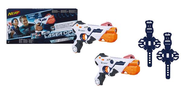 Pack 2 LanzadoresNerf Laser Ops Pro (Hasbro E2281EU4) barato en Amazon