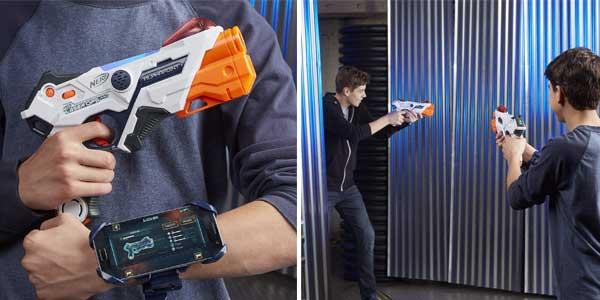Pack 2 LanzadoresNerf Laser Ops Pro (Hasbro E2281EU4) chollazo en Amazon