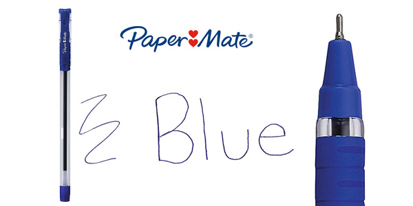 Pack 50 Bolígrafos Paper Mate azul 0,7 mm chollo en Amazon