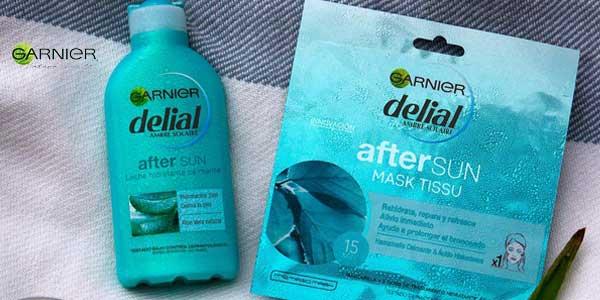 PACK x2 Garnier Delial Leche Hidratante Calmante After Sun con Aloe Natural chollazo en Amazon