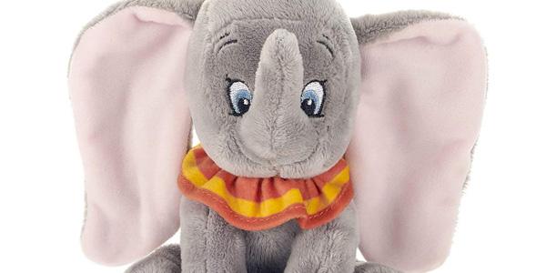 Peluche Dumbo sentado (Disney 37275) chollo en Amazon