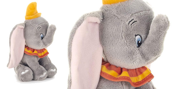 Peluche Dumbo sentado (Disney 37275) chollazo en Amazon