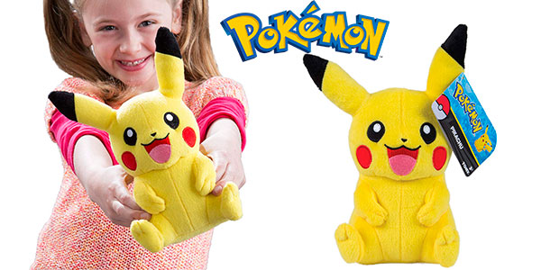 Chollo Peluche Pikachu de Pokémon de 20 cm