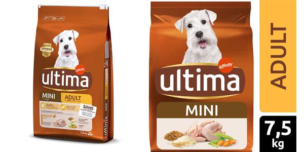 Pienso Última para perros mini adultos con pollo al mejor precio en Amazon