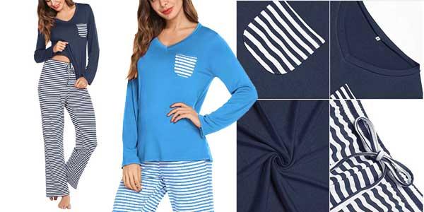Pijama de verano de 2 piezas Lomon para mujer chollazo en Amazon