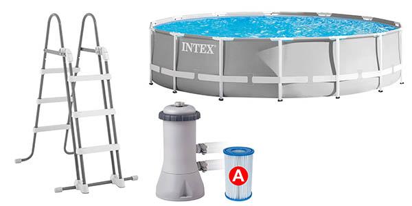 piscina para jardín de plástico resistente grande relación calidad-precio estupenda