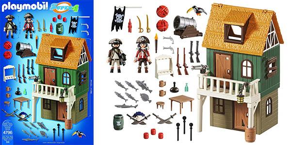 Playmobil barco pirata camuflado Ruby oferta