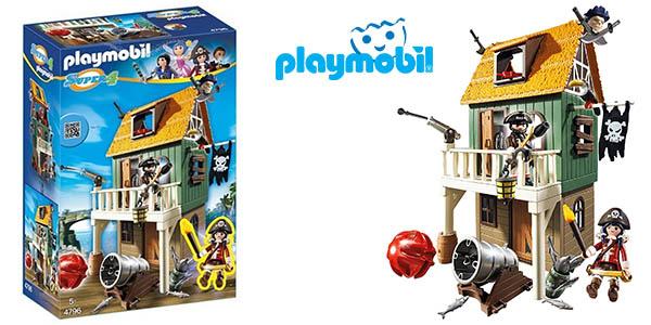 Playmobil barco pirata camuflado barato