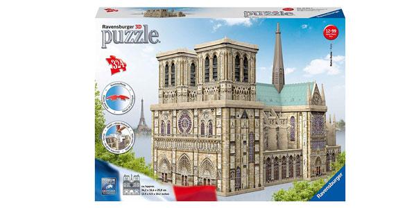 Puzzle Ravensburger 3D Notre Dame Paris chollazo en Amazon
