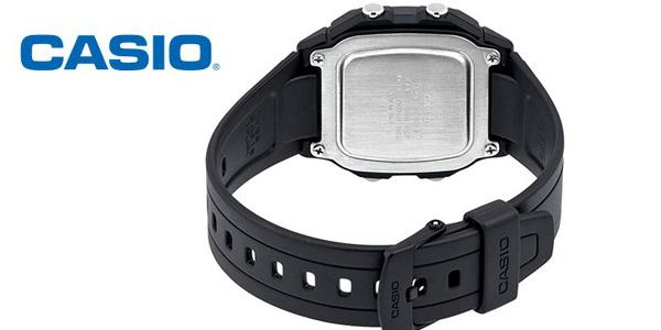 Reloj Digital unisex Casio Collection W-800H-1AVES negro chollo en Amazon