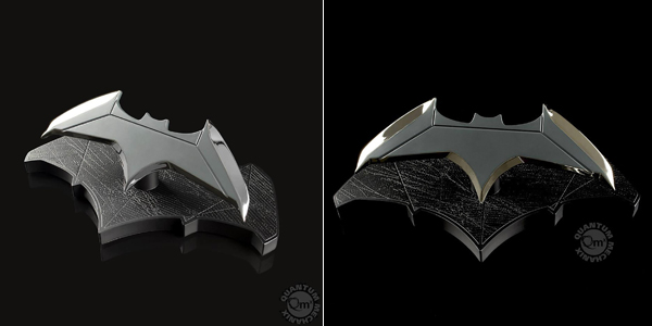 Réplica Batarang Batman Dc Comics 1:1 - Quantum Mechanix + cuaderno regalo chollo en Zavvi