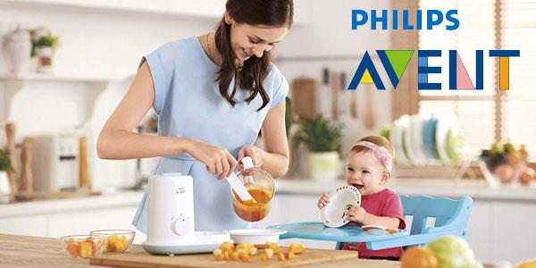 Robot de cocina para bebés Philips Avent SCF862/02 chollazo en Amazon