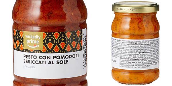 salsa pesto precocinada Wickedly Prime relación calidad-precio estupenda