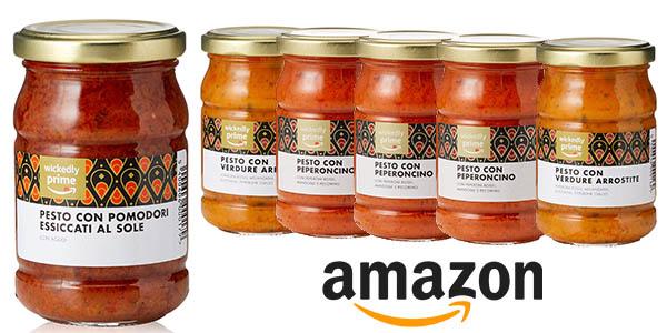 salsas pesto Wickedly Prime pack ahorro