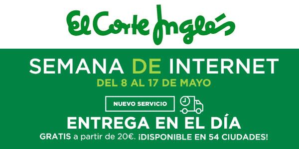 Semana de Internet en El Corte Inglés hasta el 17 de mayo