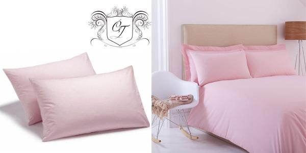 Comprar Set x2 Fundas de almohada Charlotte Thomas Sestina de percal de algodón chollo en Amazon