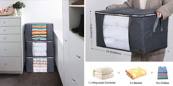 Set de 3 bolsas de almacenamiento Lifewit chollazo en Amazon