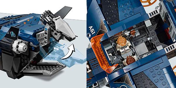 set de construcción LEGO Quinjet Vengadores oferta