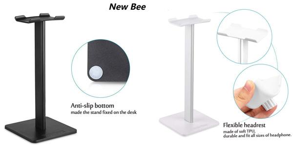 Soporte para auriculares universal New bee chollo en Amazon