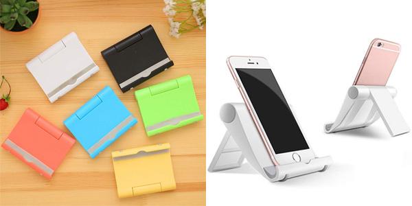 Soporte para smartphone o iPad tablet Dosige sobre mesa chollo en Amazon
