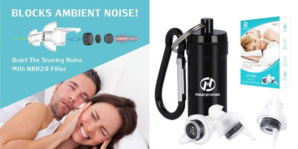Tapones para oídos Hearprotek baratos en Amazon