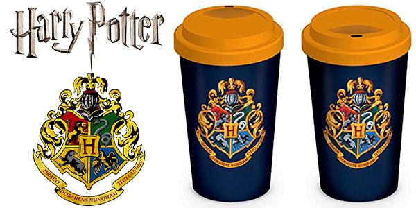 Taza cerámica de Harry Potter con tapa barata