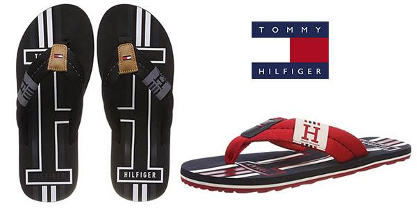 Tommy Hilfiger Badge Textile Beach Sandal chanclas baratas