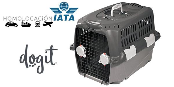 Transportín homologado Pet Cargo Dogit 500 de 50 x 70 x 49 cm barato en Amazon