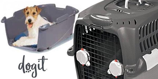 Transportín homologado Pet Cargo Dogit 500 de 50 x 70 x 49 cm chollo en Amazon