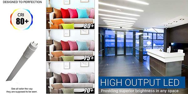 tubos LED Atomant para sustituir fluorescentes estándar de 60 cm relación calidad-precio estupenda